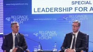 Vučić i Stoltenberg: Učinićemo sve da sačuvamo mir