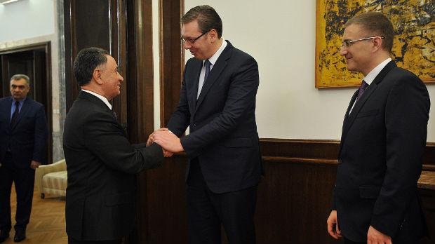 Vučić i Usubov o unapređenju saradnje Srbije i Azerbejdžana