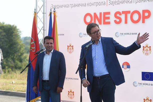 Vučić ugostio Zaeva u Vranju, na stolu sve teme