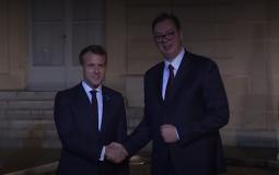 Vučić na večeri s Makronom i učesnicima Pariskog foruma o miru