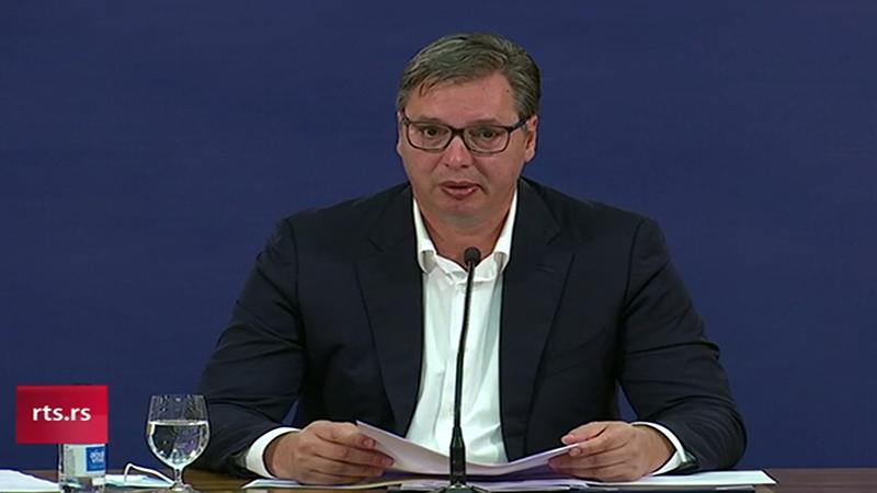 """Vučić najavio """"policijski čas"""" od petka do ponedeljka: """" Lično bih voleo da to bude za celu Srbiju"""""""