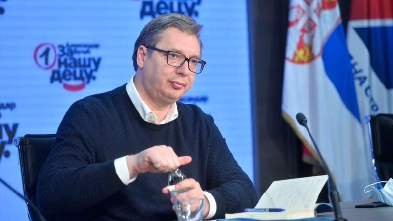 Vučić najavio ujedinjenje SNS-a sa partijom Aleksandra Šapića