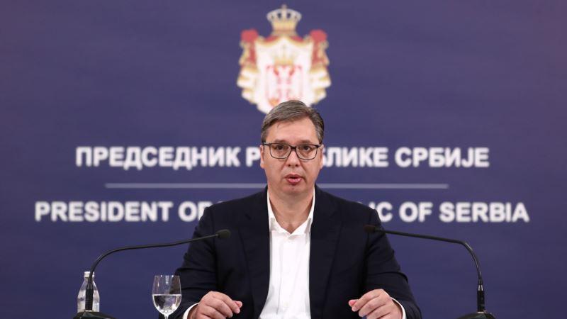 Vučić najavljuje mogućnost koncentracione vlade i nove izbore za godinu i po