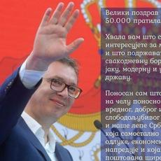 Vučić najpopularniji na društvenim mrežama! 50 HILJADA ljudi ga prati, a on im sada ŠALJE VAŽNU PORUKU! (FOTO)