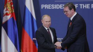 Vučić ne zna zašto je Putin upotrebio Srebrenicu kao paralelu za situaciju u Istočnoj Ukrajini