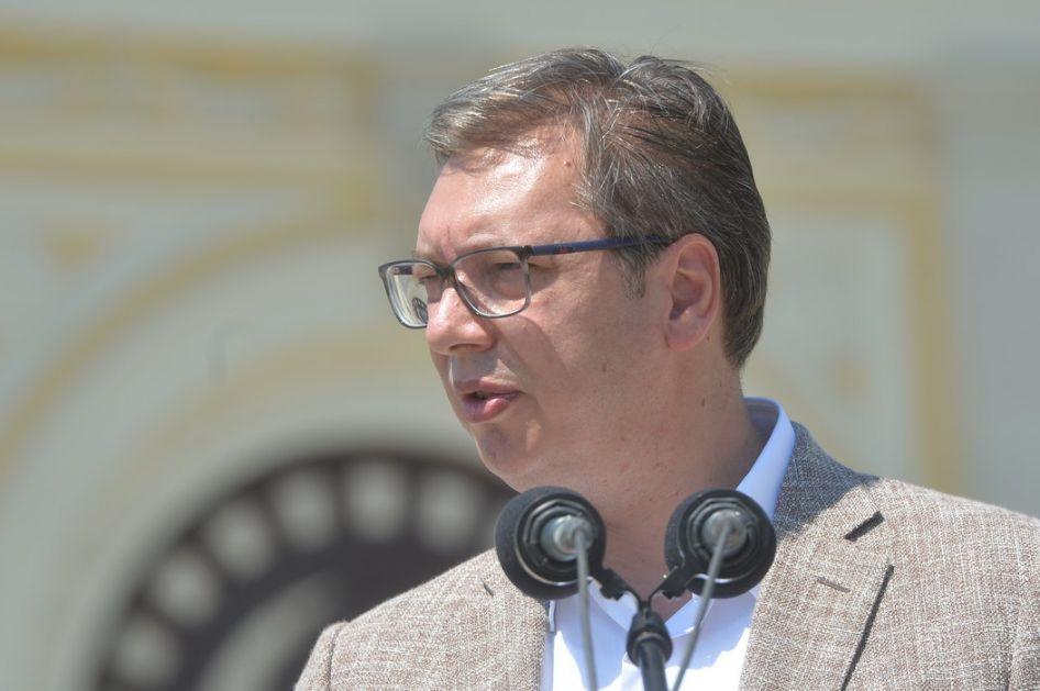Vučić o koalicionoj ili koncentracionoj vladi, izvozu oružja, Mariniki i Telekomu' koroni