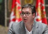 Vučić o pisanju medija o sastanku Palmera i opozicije: Tako to mala deca zamišljaju
