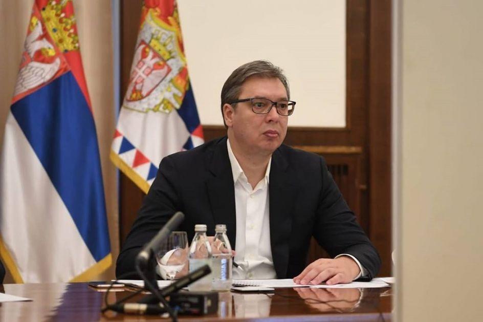 Vučić o pregovorima sa Prištinom, uplivu stranog faktora u aktuelnim protestima, Merkelovoj i SPS-u