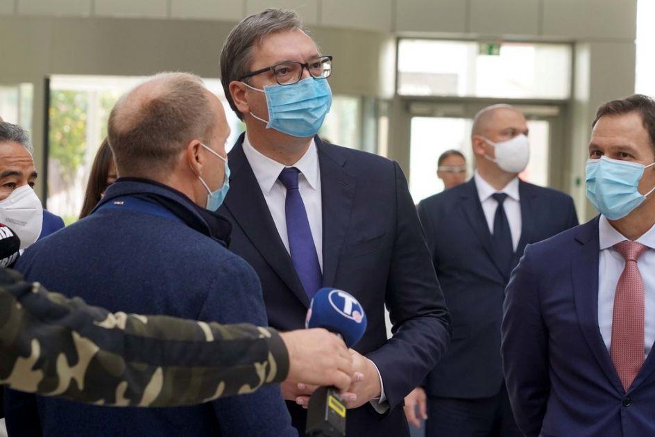 Vučić uputio saučešće patrijarhu i SPC povodom smrti mitropolita Amfilohija