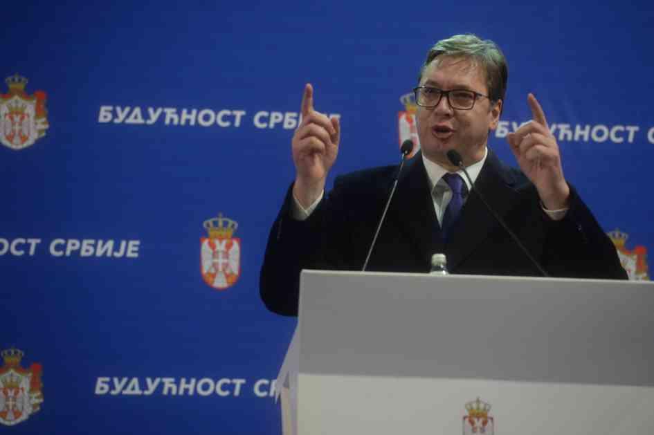 Vučić: Srbija će biti sve jača i jača