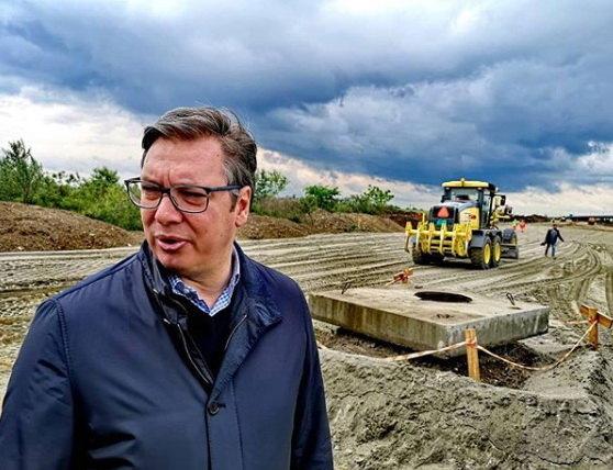 Pruga Beograd - Stara Pazova u saobraćaju do kraja marta, uskoro izgradnja autoputa Ruma - Šabac i Fruškogorskog koridora