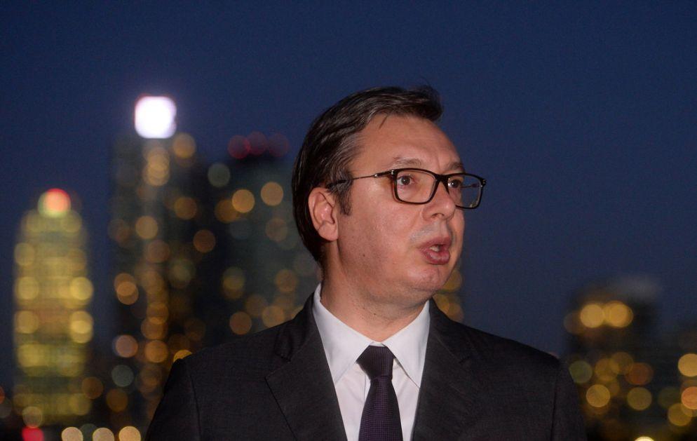 Vučić obišao radnike JKP Gradska čistoća