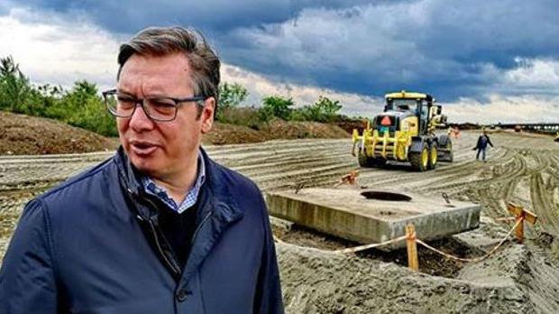 Vučić nakon obilaska radova: Srbiju niko neće moći da stigne