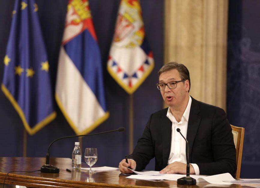 Albanska lista sa juga Srbije Vučiću predala zahteve za učešće u budućoj vladi