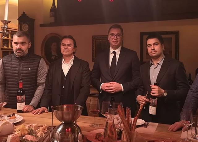 Vučić posetio vinariju Zvonko Bogdan
