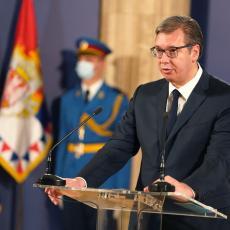 Vučić poželeo Plenkoviću brz oporavak od korona virusa