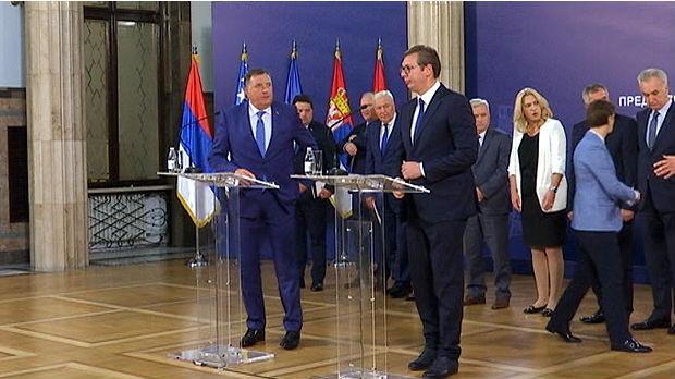 Vučić poziva na uzdržanost: Sukob bi značio kraj za sve nas