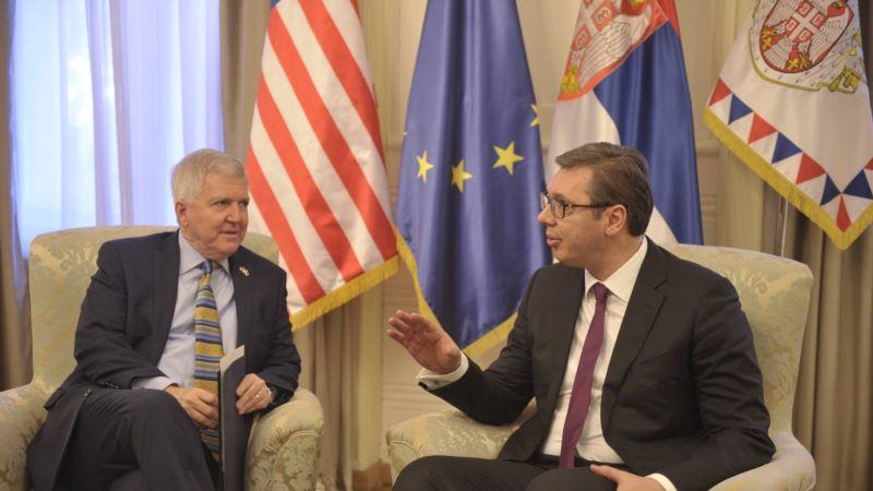 Vućić pozvao SAD da iskoriste svoj uticaj na Prištinu