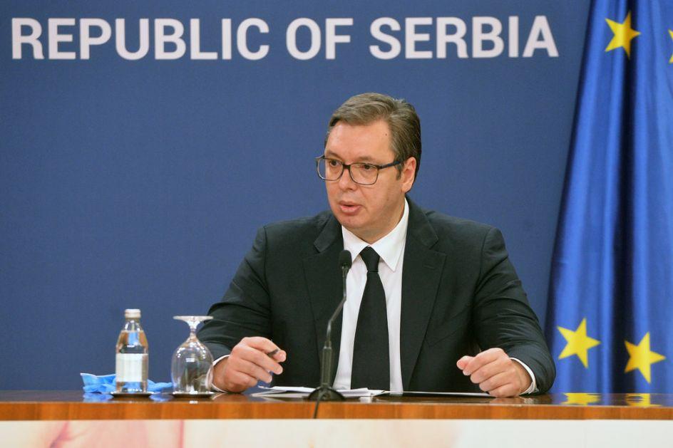 Vučić primio akreditvna pisma novih ambasadora Slovačke , Irana i Hrvatske