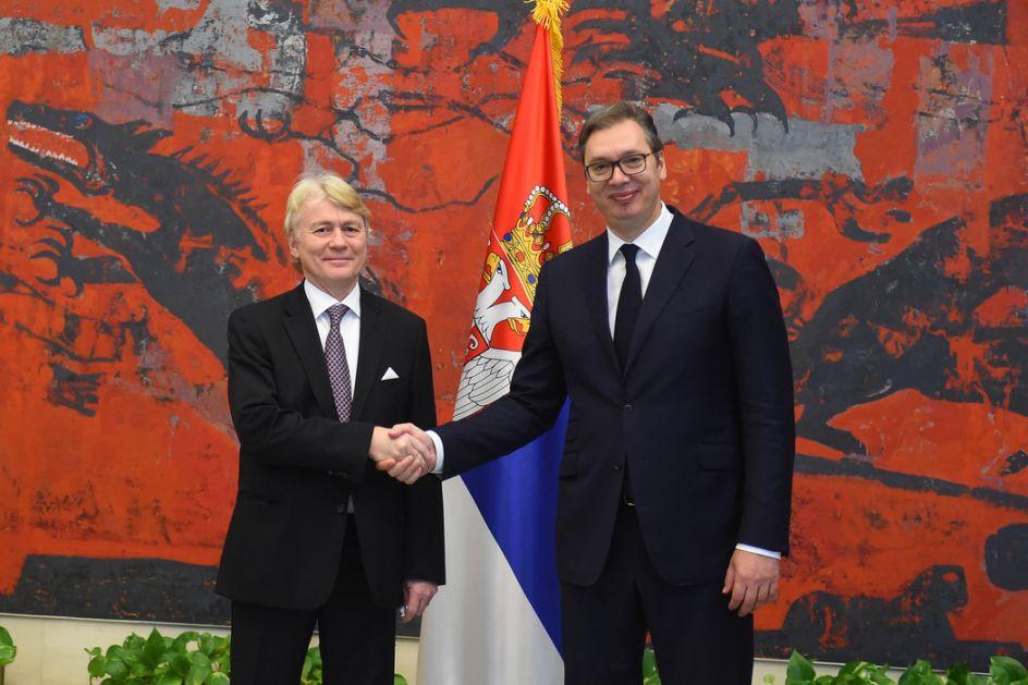 Vučić primio akreditive novih ambasadora Norveške, Grčke, Mjanmara, Kazahstana i Crne Gore