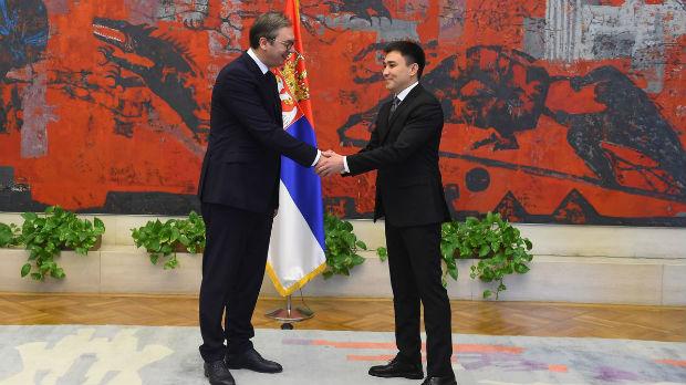 Vučić primio akreditivna pisma novih ambasadora