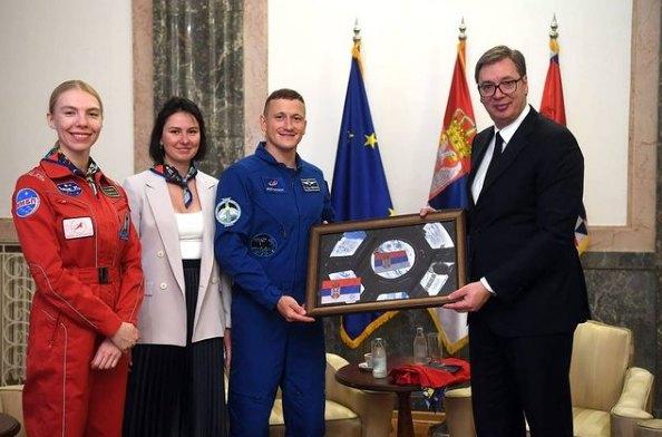 Vučić primio ruskog astronauta Kud-Sverčkova