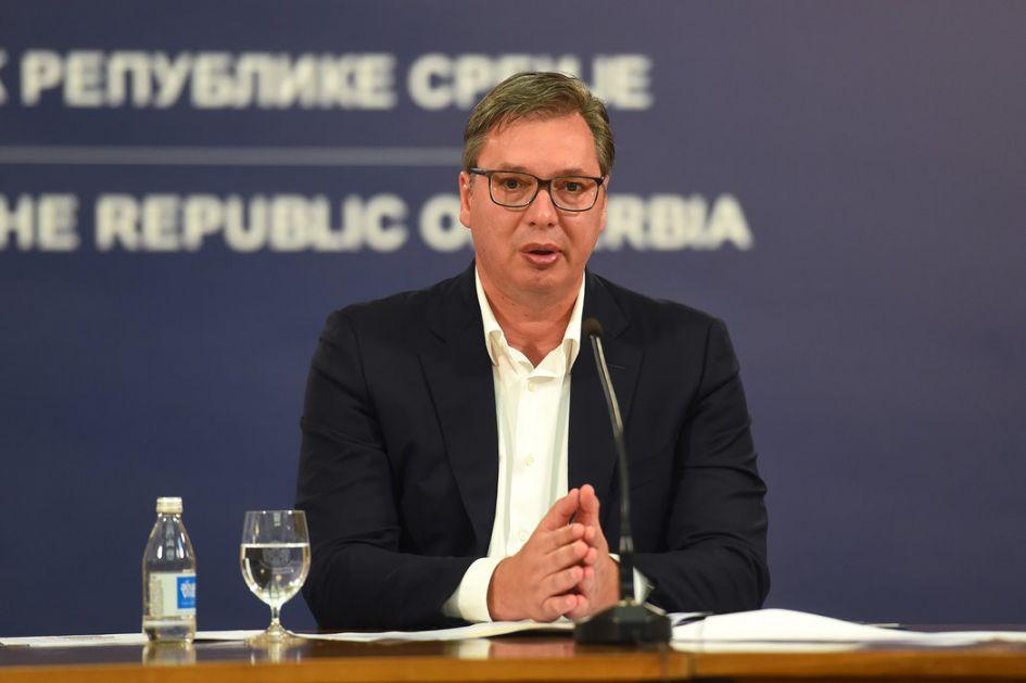 Nastavljene konsultacije o vladi, Vučić sa Šapićem