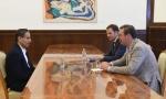 Vučić sa Alabarom: Još brža realizacija Beograda na vodi
