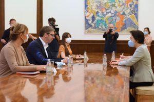 Vučić sa Čen Bo: Napredak saradnje Srbije i Kine, za pet godina izvoz povećan za 15 puta