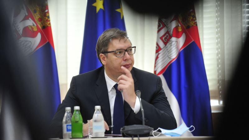 Vučić sa Dačićem i Šapićem
