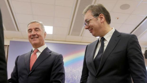 Vučić sa Đukanovićem o položaju Srba i putu ka EU