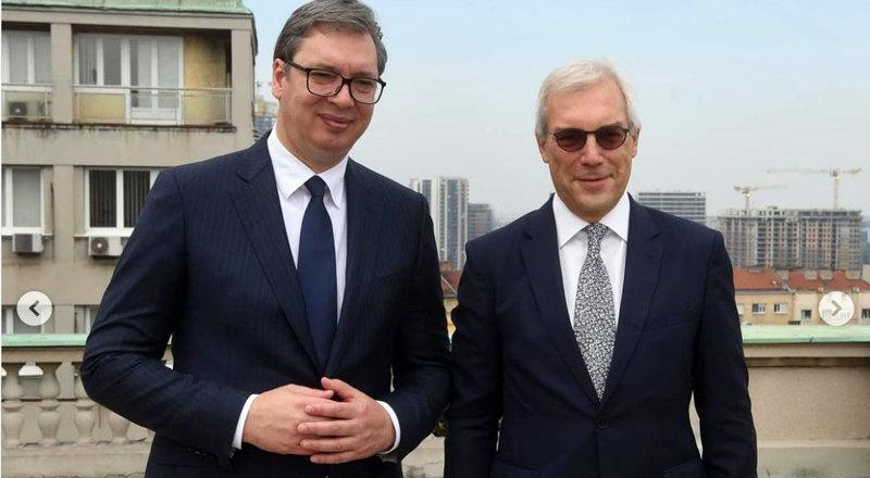Vučić sa Gruškom: U teškim trenucima vidi se ko vam je prijatelj