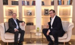 Vučić sa Hanom u Beogradu o kosovskom problemu, pristupanju EU, reformama