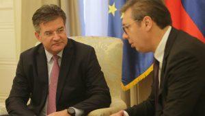 Vučić sa Lajčakom o dešavanjima na Kosovu