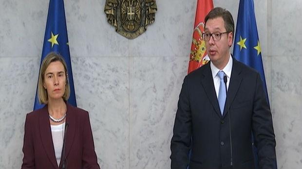 Vučić sa Mogerinijevom: Evropska unija je za Srbiju najvažnija destinacija