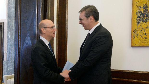 Vučić sa Mondolonijem, ovaj put na drugoj funkciji