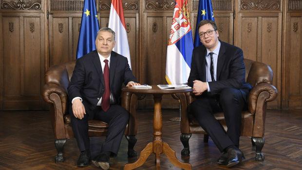 Vučić sa Orbanom o saradnji