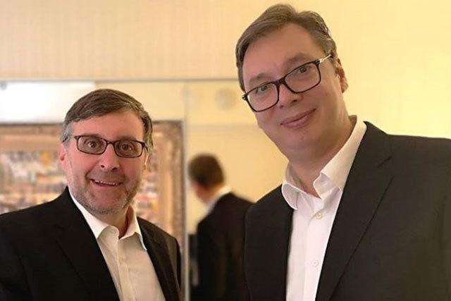 Vučić sa Palmerom i Vilsonom - Kosovo dominantna tema
