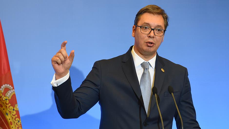 Vučić sa Pensom: Srbija za mirno rešavanje problema