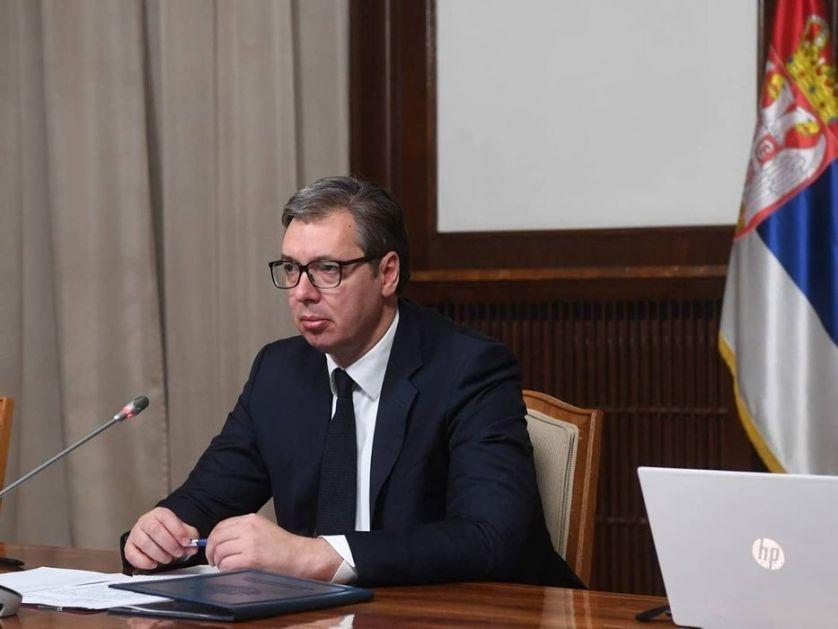Vučić sa Primakovim: Jake duhovne veze dva naroda
