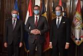 Vučić sa ambasadorima Belgije i Holandije