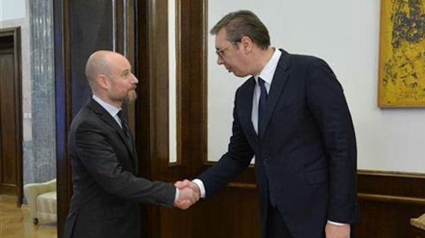 Vučić sa delegacijom Evropskog parlamenta
