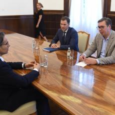Vučić sa direktorom kompanije Igl Hils: BEOGRAD NA VODI biće završen RANIJE nego što je planirano! (FOTO)