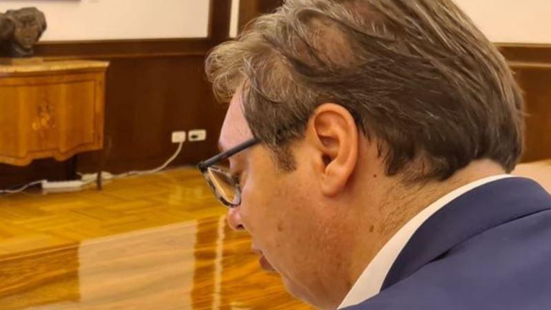 Vučić sa predsednikom Azerbejdžana o izvozu oružja