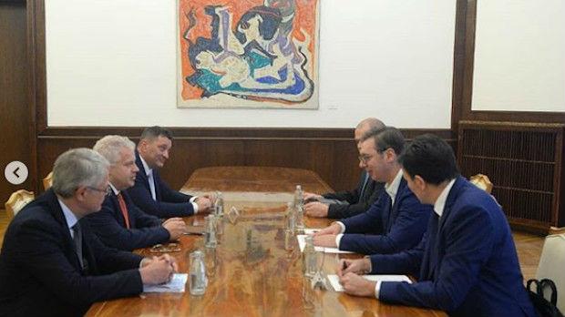Vučić sa predstavnicima Nokije