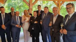 Vučić sa predstavnicima vanparlamentarnih stranaka (VIDEO, FOTO)