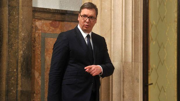 Vučić se obraća javnosti u 20 časova