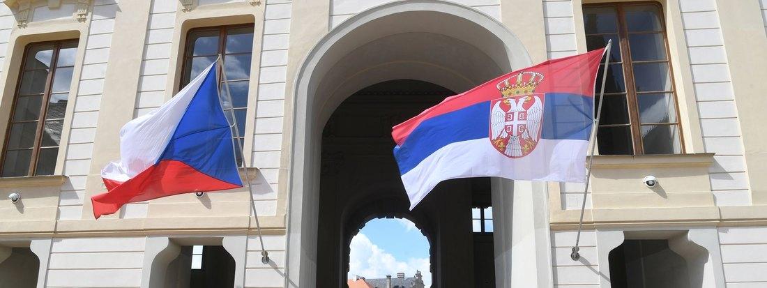 Vučić: Dobri razgovori sa češkim partnerima