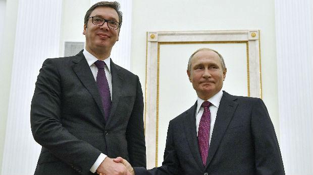 Vučić sa Putinom: Nisam optimista po pitanju kompromisa za KiM