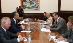 Vučić se sastao sa Visokim komesarom OEBS-a za nacionalne manjine